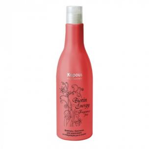 Kapous Professional Шампунь с биотином для укрепления и стимуляции роста волос Biotin Energy 250 МЛ