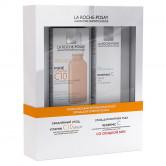 La roche-posay набор редермик витамин  c10 + редермик c для контура глаз со скидкой -50%