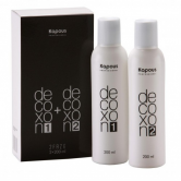 Средство для удаления краски с волос / Decoxon 2 Faze 2*200 мл