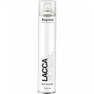 Kapous professional лак аэрозольный для волос нормальной фиксации 500 мл