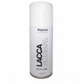 Kapous professional лак аэрозольный для волос нормальной фиксации 100 мл