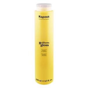 Kapous шампунь-блеск для волос brilliants gloss250 мл