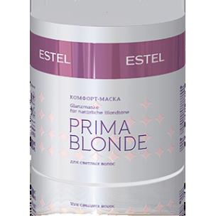 Estel комфорт-маска для светлых волос prima blonde 300 мл