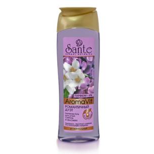Сантэ романтичный дуэт парфюм-гель для душа сирень и жасмин 250 мл