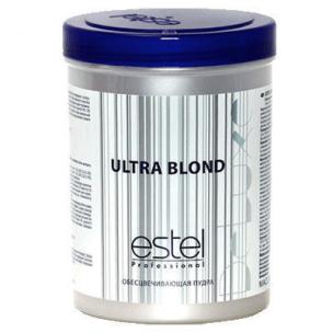Estel обесцвечивающая пудра для волос ultra blond de luxe 750 гр