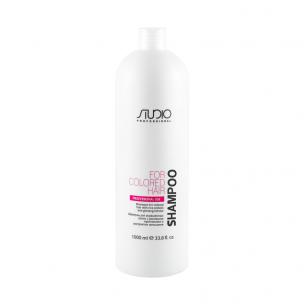 Kapous  шампунь для окрашенных волос с рисовыми протеинами и женьшенем studio 1000 мл
