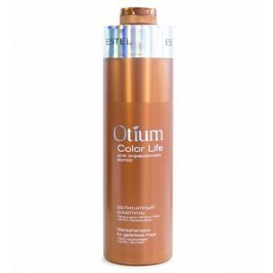 Estel шампунь деликатный для окрашенных волос otium color life 1000 мл