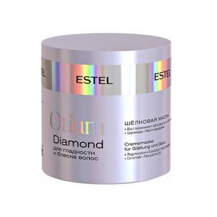 Estel маска шёлковая для гладкости и блеска волос otium diamond 300 мл