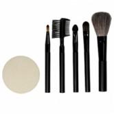 Qvs набор для макияжа (кисточки, аппликатор для  макияжа глаз, щеточка-расческа для бровей