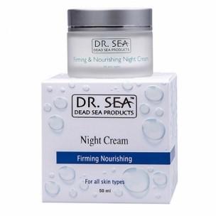 Dr.sea крем укрепляющий и питательный ночной 50 мл