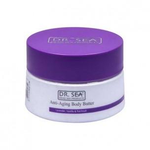 Dr.sea масло для тела против старения - лаванда, ваниль и пачули 250 мл