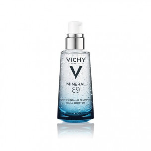 Сыворотка для лица vichy mineral 89 fortifying hydrating and plumping daily booster